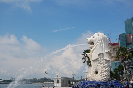 Merlion Singapore Picture on Merlion1