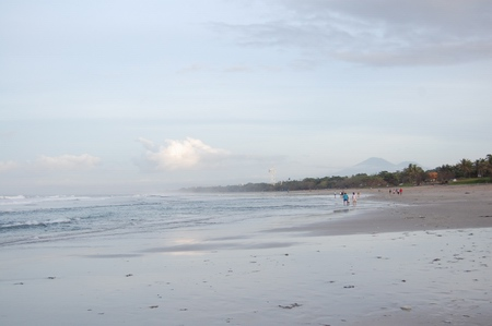 Kuta in the morning