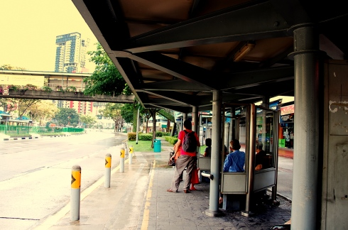 bus stop@sg
